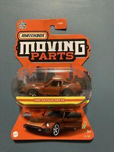 Matchbox Moving Parts 1982 Datsun 280 ZX 2021 New Release - #17/20 Orange