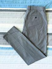 Skinny Fit Men's Trousers Size 34R Cedar Wood State