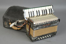 Hohner Vintage Accordion with Case - Good Shape and Fully Serviced