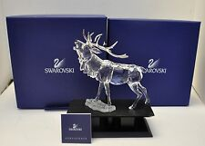 Swarovski Crystal Stag Rare Encounters 291431 New In Box 7608 000 004