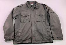 Apolis Global Citizen Archive Utility Military Full Zip Jacket XS Navy Blue Coat