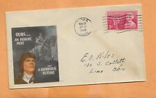 OURS AN HEROIC PAST & GLORIOUS FUTURE NOV 8,1948 LIMA OHIO PATRIOTIC  COVER