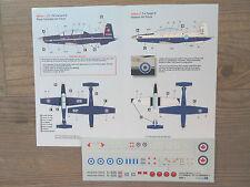 """CT-156 HARVARD-II """"4 RCAF/USAF/GREECE/MAROCCO"""" CARACAL DECALS 1/48"""