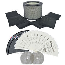 FilterQueen Genuine System Filter Kit - 1 Medi-Filter, 2 Wraps, 12 BioCones
