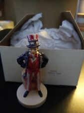 Vtg 1967 Uncle Sam Sebastian Figurine Ec
