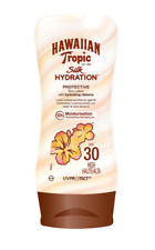 🌺 Hawaiian Tropic Silk Hydration Protective Sun Lotion SPF 30 Size 180 ml New