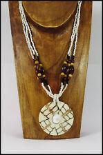 ein Halskette Shiva Auge Muschel Damenkette edel Strand Sommer Anhänger NEU!!!
