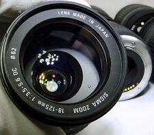 Sigma AF 18-125mm f3.5-5.6 DC Lens 4/3 Mount Evolt Olympus E510 E620 Four Thirds