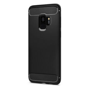 Galaxy S9 Case Rugged Armor Shockproof Protective Cover Matte Black FREE DELIVER