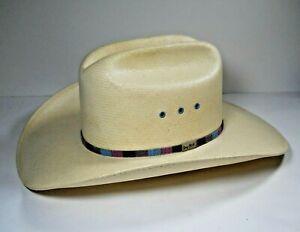 Resistol George Strait Cowboy Hat Fits Size 7 Medium Self Conforming PLEASE READ