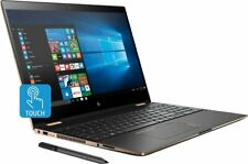 """HP Spectre X360 Flip Touch 15t 15-ch015nr 15.6"""" UHD 4K i7-8705G Quad Pen 6-cell"""