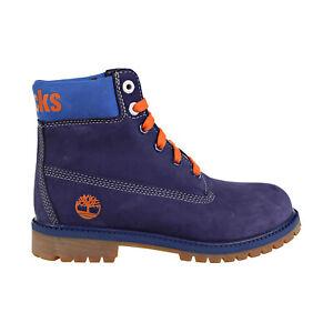 Timberland X Mitchell & Ness NBA 6' Boot Big Kids' Shoes Dark Blue TB0A246V