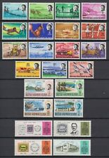 1968 BRITISH SOLOMON ISLANDS 3 MNH SETS, FISHNG, BOATS
