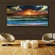 Large art prints Home Decor Canvas Painting Wall Art Chinese art- Seascape