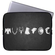 Game of Thrones Badges Laptop Case Sleeve Tablet Bag Ultrabook Chromebook Gift