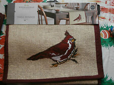 "Threshold Red Bird Cardinal on Limb Runner Jute Target 14"" x 72"""