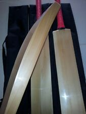 Custom Hand Made Cricket Bat English Willow 41 Mm Edges Full Size Short Handle