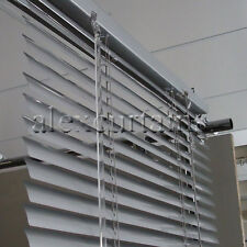 Aluminium Venetian Blinds, Size: 60x137cm, 25mm Slat, Colour: Silver