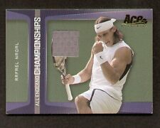 Rafael Nadal 2007 Ace ALL ENGLAND CHAMPIONSHIPS Swatch / Fabric Match-Worn EC-1