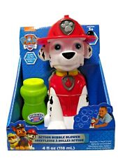 Paw patrol Marshall Action Bubble Blower With Bubbles