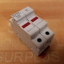 Bussmann CHM2DI Fuse Holder, Double Pole 13/32 x 1 1/2 10 x 38, 690V 32A - USED