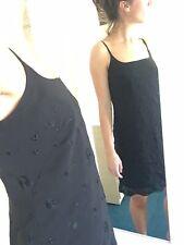 Black Slip Dress. Warehouse. Uk 10. 90s