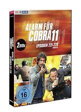 ALARM FÜR COBRA 11-STAFFEL 28/FOLGEN 221-229 (TOM BECK/E.ATALAY/+)  2 DVD  NEU