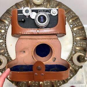 "Vintage ARGUS C-3 ""THE BRICK"" 35MM Rangefinder Camera in LEATHER CASE $29.99"