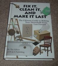2008 FIX IT CLEAN IT MAKE IT LAST FOREVER Household Home Guide FC&A hc