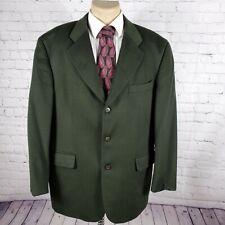 Hugo Boss Men's Size 42R Dark Green Loro Piana 100% Cashmere Blazer