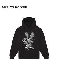 PESO Mexico Hoodie Sweatshirt Black Schwarz Large Size L