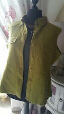 383d5c7d548 GILET S MANCHES laine bouillie VERT OLIVE marque MAT DE MISAINE Taille 48  Neuf