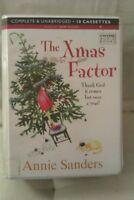 The Xmas Factor: Annie Sanders: Unabridged Cassette Narr Kim Hicks