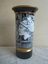 grosse alte Vase Hollohaza Ungarn hungary Porzellan Endre Szasz 30,4 cm