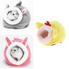 3pcs Chinchilla Hedgehog Guinea Pig Ferret Bed Accessories Cage Toys