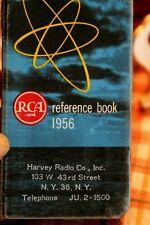 Iconic Vtg 1954 Rca Tubes Test Parts Reference Book Harvey Radio Nyc Radio Row