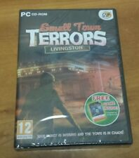 Small Town Terrors: Livingston (PC CD-ROM) puzzle mystery computer game NEW