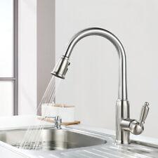 WOWOW Küche Wasserhahn 360°drehbar Waschtisch Spültisch Küchearmatur