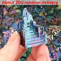 Rainbow rara titanio bismuto esemplare minerale pietre dure cristallo minerale