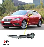 FOR SEAT LEON 2012 - 2018 NEW WING MIRROR REPEATER INDICATOR LEFT N/S LED