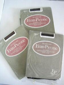 3 Pairs Vintage Evan-Picone Silkee Sheer -  Panty Hose Medium
