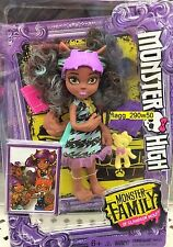 *Monster High* 5.5 INCH PAWLA WOLF MINI DOLL SET- Monster Family of Clawdeen