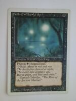 MTG Magic the Gathering English Will-o'-the-Wisp 1994 3rd Edition Revised HP
