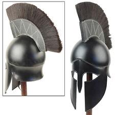 Medieval Dark Legionnaire Greek Corinthian Helmet Armor
