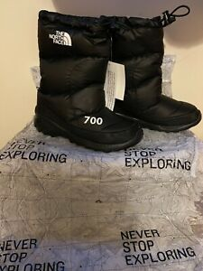 North face nuptse boots snow boots
