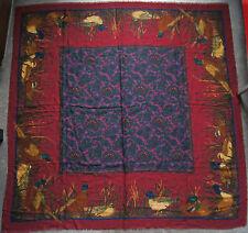 étole châle BELVEDERE laine légère et fine 135 cm x 135 CM