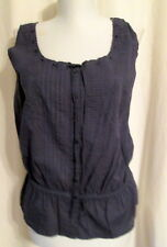 Nine West Vintage America gray blousy cami MED *FREE SHIPPING* NEW 100% Cotton