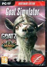 GOAT SIMULATOR/GoatZ/MMO-Sim+bande sonore! Jeux PC DVD NEUF Cello