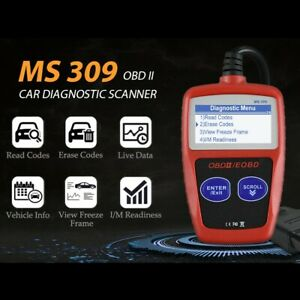 MS309 OBDII OBD2 Scanner Universal Car Fault Code Reader Engine Diagnostic Tool