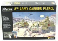 Bolt Action 402011018 8th Army Carrier Patrol (British) WWII Universal Carriers